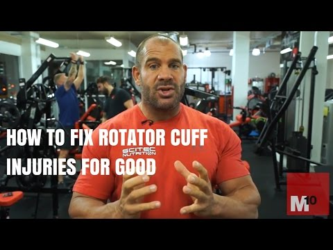 How to fix rotator cuff injuries for good