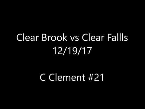 Clear Brook vs Clear Falls