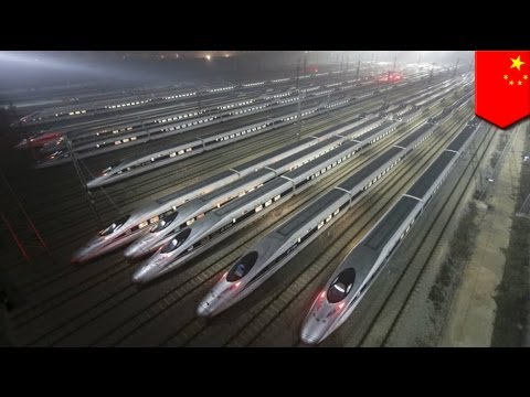 China to start running high-speed trains to North Korean border