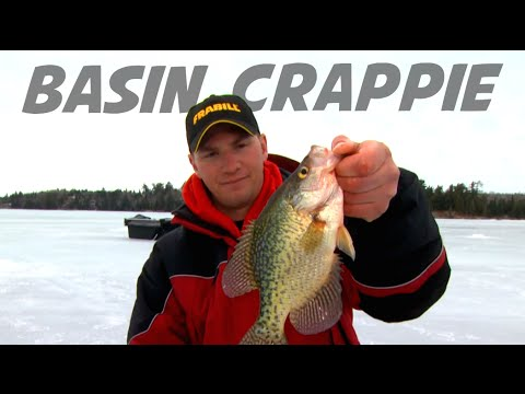 Locating Basin Crappies on Ice