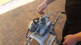 Simson M54 50ccm 4 Gang Motor Restauriert