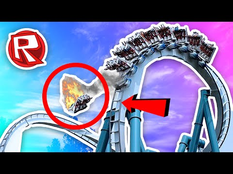 DANGEROUS ROLLERCOASTER IN THE WORLD! | Roblox