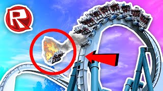 DANGEROUS ROLLERCOASTER IN THE WORLD!   Roblox