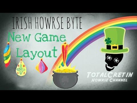 New Game Layout - Irish Howrse Byte