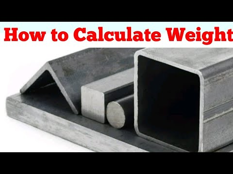 How to Calculate Weight Of Mild Steel Plate | Mild Steel Angle Rod | Weight Of MS Plate Rod Angle