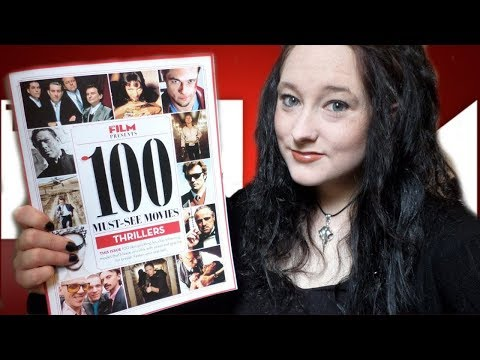 *ASMR* Leafing through Total Film '100 Must-See Movies: Thrillers' magazine! | Amy McLean