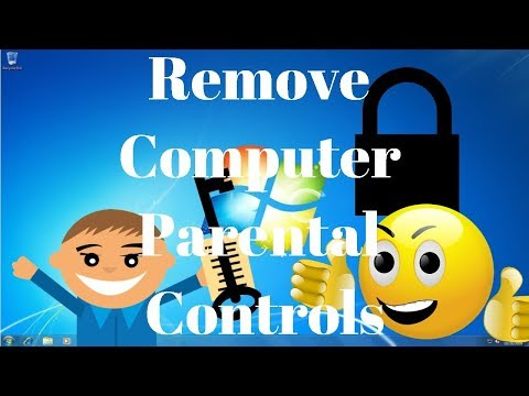 How to Remove Windows Computer Parental Controls! UPDATED!