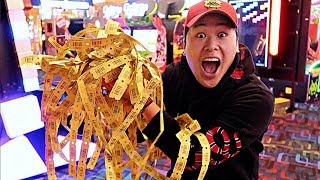 WON THE BIGGEST LOTTERY JACKPOT!!!! (IMPOSSIBLE ARCADE HACKS)