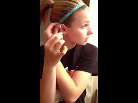 How To Clean Your New Cartilage Piercing!