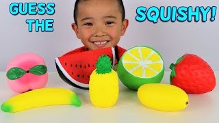 Download GUESS THE SQUISHY Toys Challenge Kids Fun Game With Ckn Toys Video