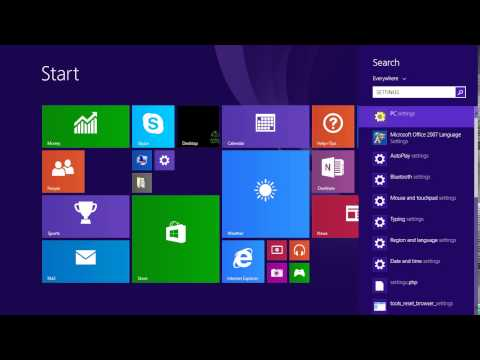 How to change screen resolution in windows 8