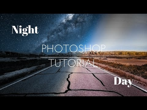 Night and Day - Photoshop Manipulation Tutorial