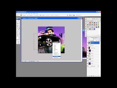How To Make A Mixtape Cover in Adobe Photoshop Cs3 Cs4 Cs5 Cs6