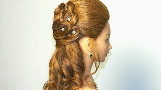 Fine Wedding Prom Hairstyle For Long Hair Hairstyles For Women Draintrainus