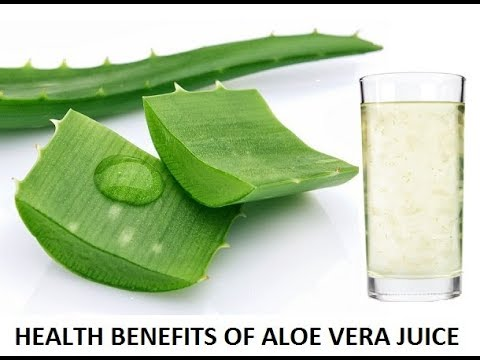 How to prepare aloe vera juice- juice at home