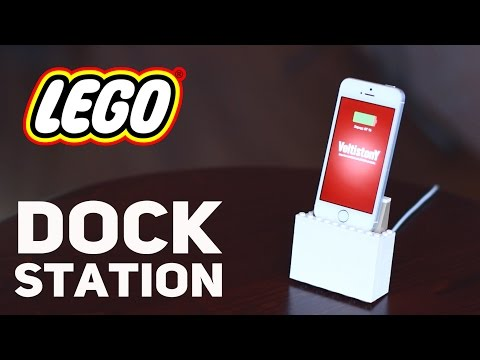 Lego Dock Station for Iphone