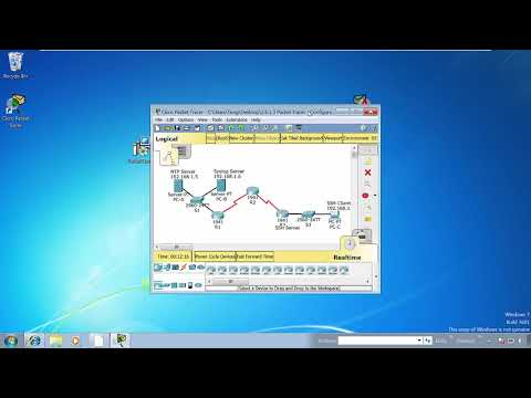 How to install and use Cisco Packet Tracer 7.x