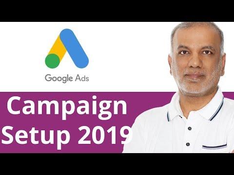 Google AdWords Campaign Setup Tutorial 2018