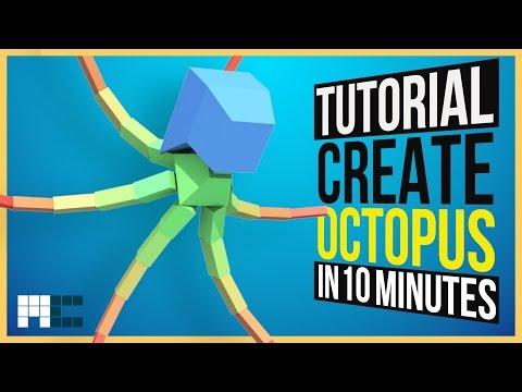 Octopus - Create Rig in 10 Minutes (3ds Max CAT Tutorial)