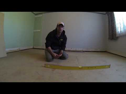 how to re-install a bearer under floor