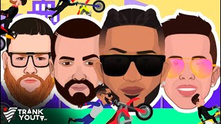 El Motorcito Remix 🏍| Video Motion | Lirico En La Casa x Nacho x De La Ghetto x Miky Woodz