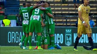 Nacional vs Rionegro (1-0) Liga Aguila 2019-II   Fecha 17