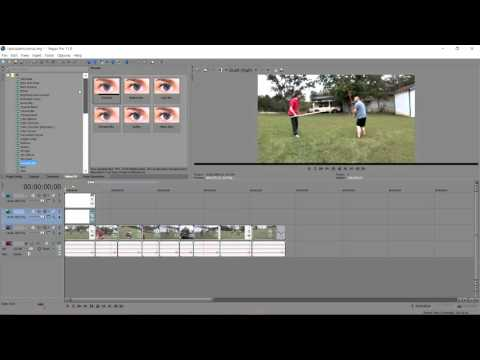 How to Make a Lightsaber Effect in Sony Vegas Pro