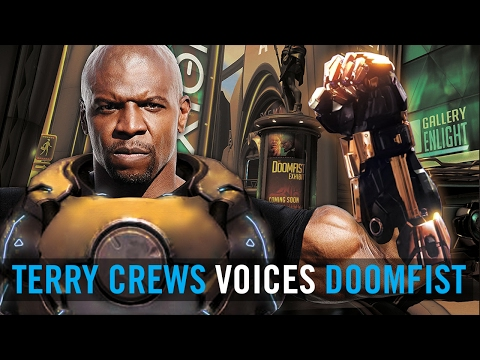 Watch Terry Crews in a mock audition for Overwatch's Doomfist