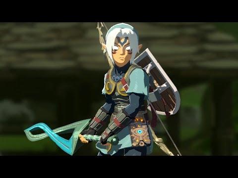 The Legend of Zelda: Breath of the Wild - amiibo Fierce Deity Sword & Armor Set!