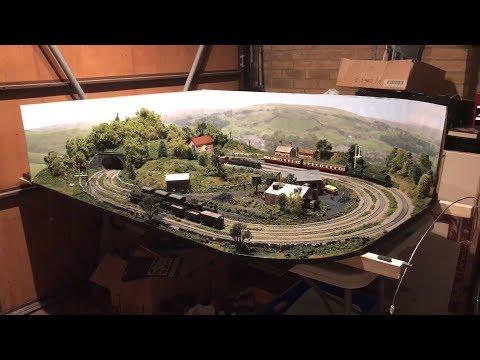 Hornby Trakmat Layout - Model Railway
