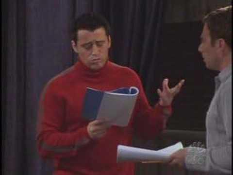Funny Friends Scene Joey Learns French
