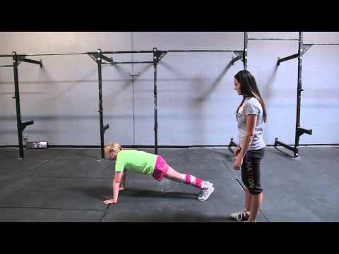 How to teach kids the basic plank