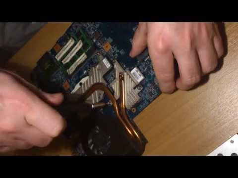 How to Change Cpu Thermal Paste - Laptop ACER Aspire (GR)