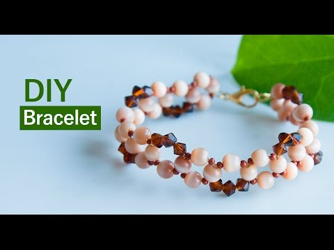 How to make easy bracelets | DIY beaded bracelet | jewelry making |Beads art