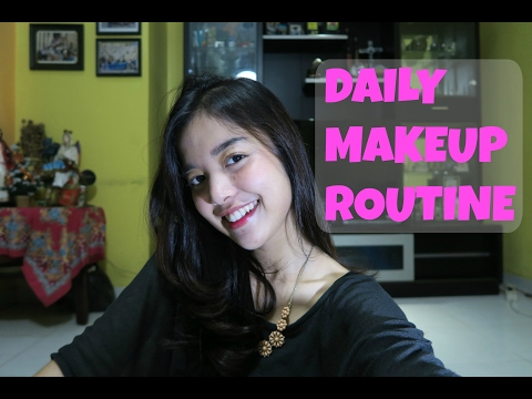 DAILY MAKEUP ROUTINE | INDONESIA #SYAVLOG5