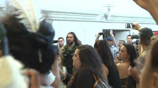 WATCH: Jason Momoa gets emotional at Hawaii premiere of Aquaman