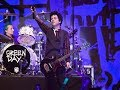 GREEN DAY Revolution Radio Tour - First Show; disses Trump, gives fan guitar (2017)