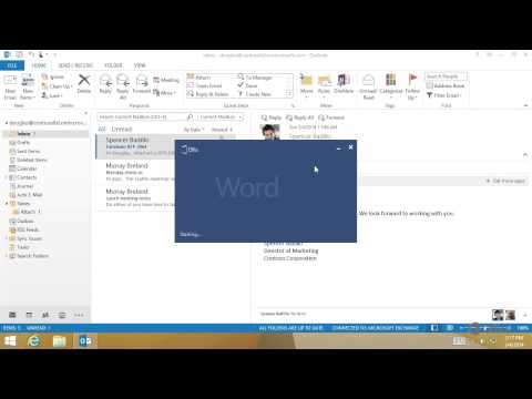 Outlook - Print and Save Attachments