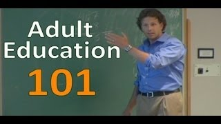 Adult Education 101 Build: A Meaningful Learning Environment by Jason Teteak