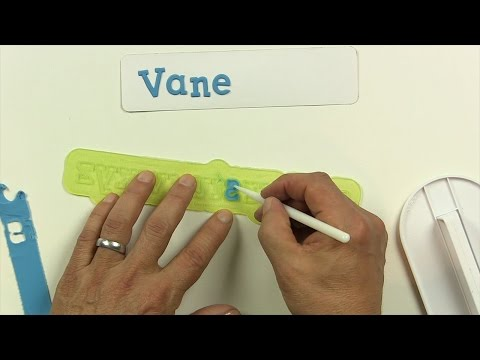 Make Letters for Cake Decorating Easy, Quick & Perfect with Flexabets™