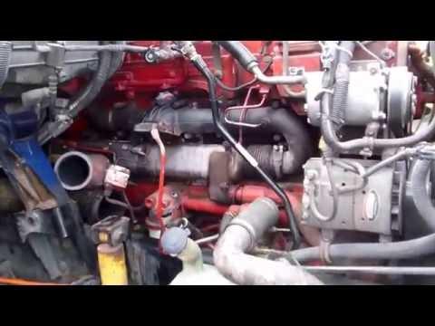 EGR Cooler  replacement, semi, truck, CUMMINS ISX English