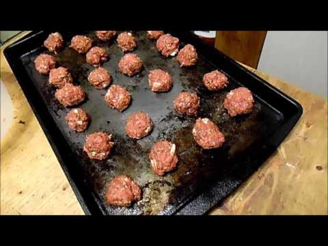 Home Made Bison MeatBalls
