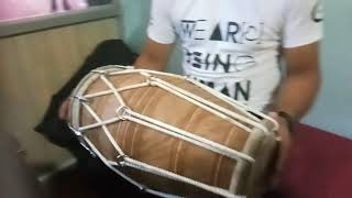 Super fast dholak player new style by lovely brar dholak made by Chet ram Gill dholak 9888303415