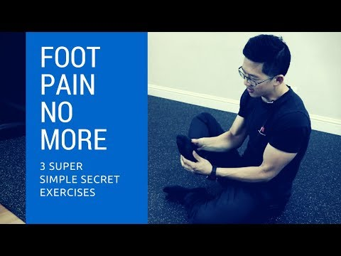 3 secret exercises for plantar fasciitis foot pain - these totally cured my foot pain!