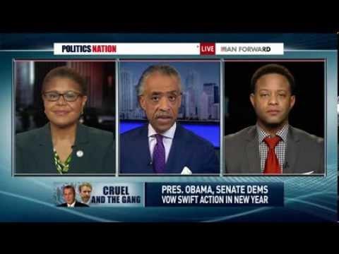 MSNBC: Rep. Karen Bass discusses the expiration of unemployment benefits on PoliticsNation
