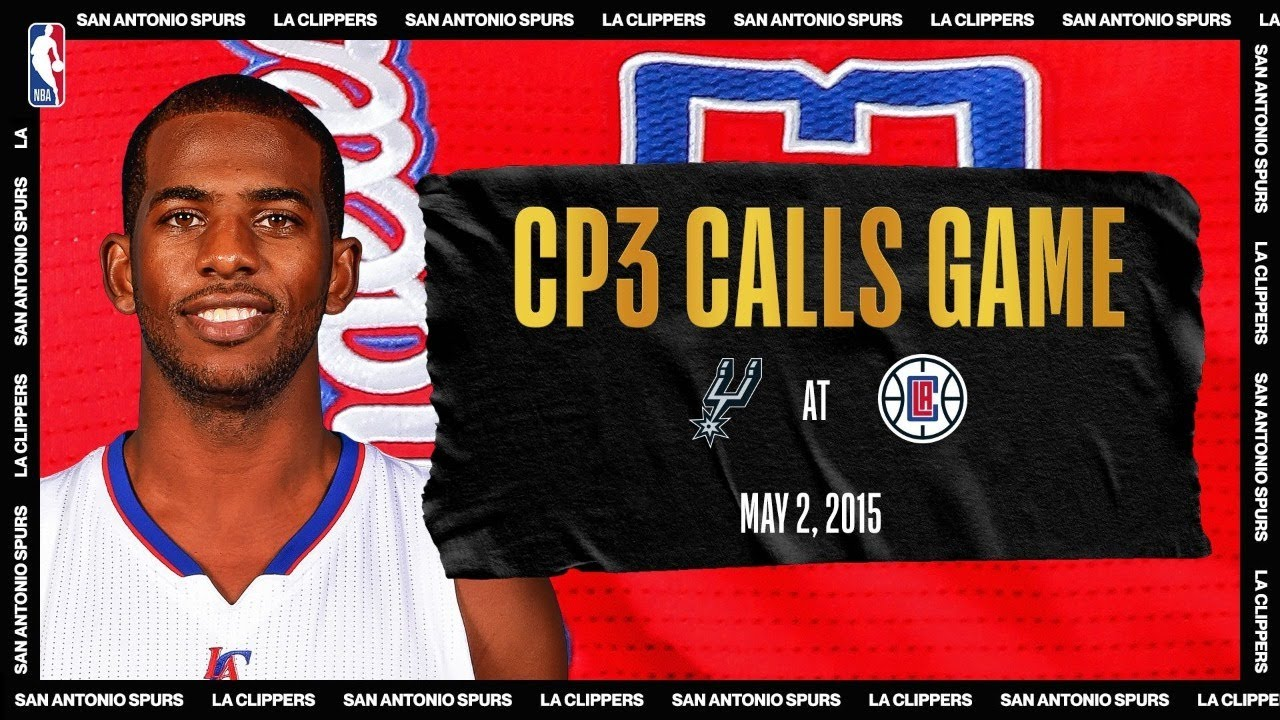 CP3 Calls Game   #NBATogetherLive Classic Game