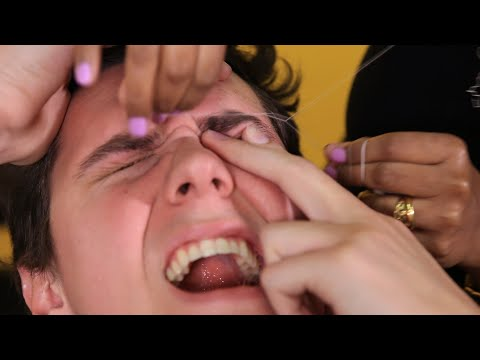 People Try Threading For The First Time