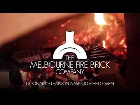 Cooking Steak in a Wood Fired Oven