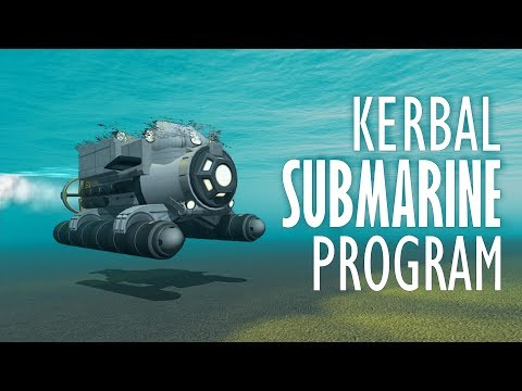 Building a Stock Submarine! - KSP