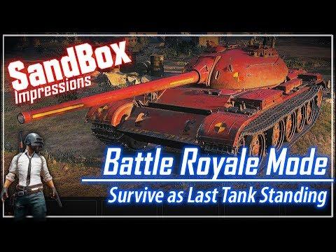 SandBox – Battle Royale Game Mode || World of Tanks